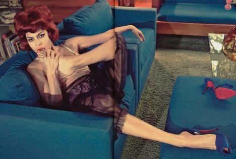 Eva Mendes Vogue'a soyundu - 40